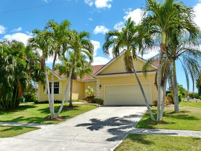 Photo for Updated waterfront house w/ heated pool & short walk to beach