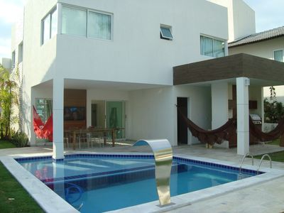 Photo for Modern Beach House in cond. - Muro Alto - Porto de Galinhas (4 suites)