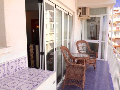 Photo for Apt Sirena, just 100 metres from Torrecilla Beach!