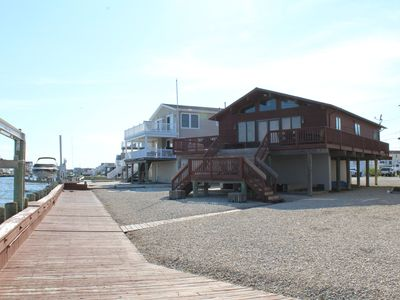 Photo for Waterfront Home on the Bay in Tuckerton Beach