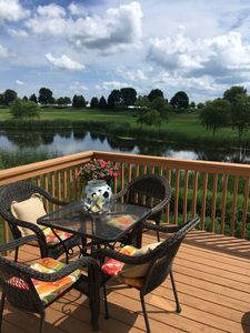 Photo for Have the PGA 3M Open in your backyard!  1/4 mile to clubhouse.  Sleeps 8.