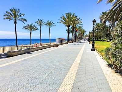 "Photo for Apartment a short walk away (299 m) from the ""Playa de San Pedro de Alcantara"" in Marbella with Parking, Internet, Washing machine, Air conditioning (499969)"
