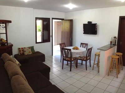 Photo for Apartment Principality, large, 2 bedrooms, ground floor, 50mts of Mampituba River