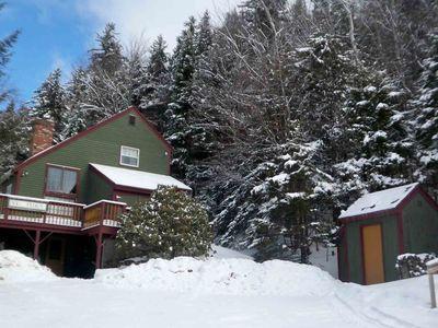 Authentic Vermont Ski House - 4 bedroom/3 bath- 1.5 miles to Mt. Snow