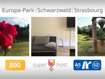 Photo for Apartment near Strasbourg - Europapark - Black Forest 70sq