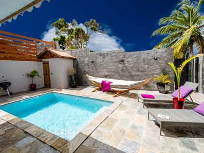 Photo for Luxury villa 7 min from the beaches, private pool salt