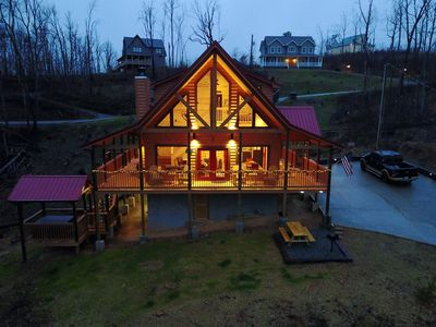 Photo for Reduced June Rates. Woodlands: Amazing Brand New  Mountain Cabin.