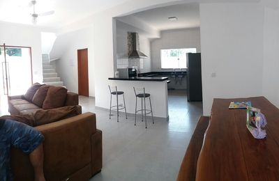 Photo for Wonderful house 500 meters from the beach with 4 bedrooms 3 suites and whirlpool