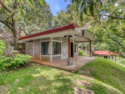 Photo for Private, breezy cabin with a terrace, garden views, and a shared pool!