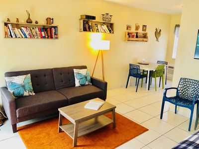 Photo for Nice studio/East Hollywood/ Sleeps 4/BBQ/2 miles to beach/free parking/6