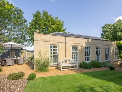 Photo for A unique two-bedroom retreat in a lovely rural location in the grounds of Snettisham House.