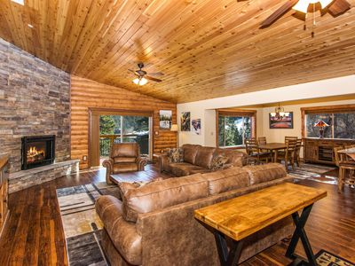 Photo for WHISPERING PINES - NEW BUILD, WALK TO BEAR MOUNTAIN, SLEEPS 14