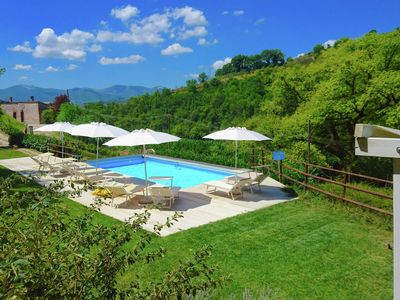 Photo for Spacious Villa with Pool in Fabriano Italy