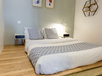 Photo for 40M2 Town Center Apt-4 mins to Clerigos Tower - Double Beds Child Futon