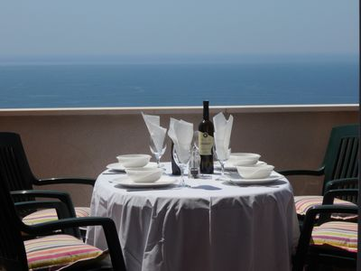 Photo for Luxury Villa Ravello - Spectacular views of Old Town Islands and Adriatic