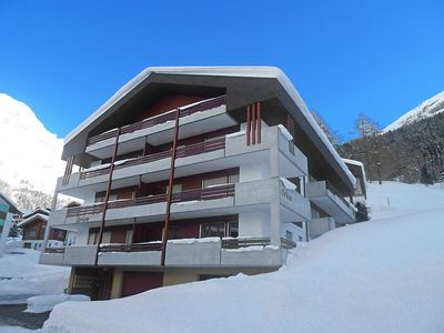 Photo for Apartment in the center of Leukerbad with Lift, Parking, Balcony (46097)