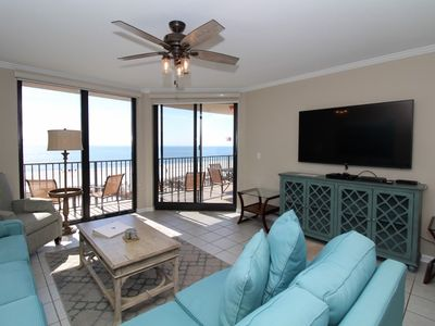 Photo for Phoenix 10 313- Beach Front View, Large Terrace, Private Beach Access!