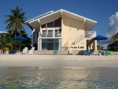 Photo for Closest Ocean Front Condo on 7-Mile beach-Cayman Reef 31