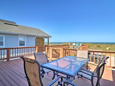 Photo for NEW-Amelia Island Oceanfront Cottage w/Grill & AC!