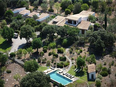 Photo for La Serrania is a Luxury retreat-style villa for rent in the Campanet valley in total seclusion