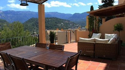 Photo for Beautiful duplex with 3 bedrooms, pool and wonderful views in Port de Sóller