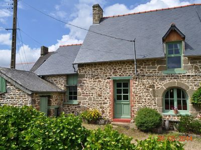 Photo for A farmhouse in a rural situation, 25 minutes from Mont St Michel