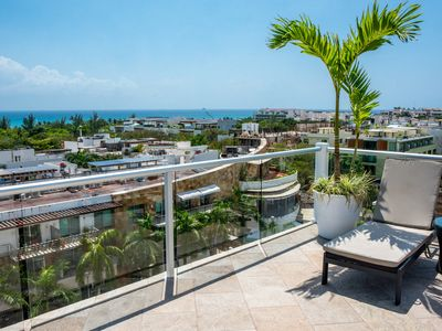 Photo for Sea views,  located in the heart of Playa del Carmen few steps from the beach