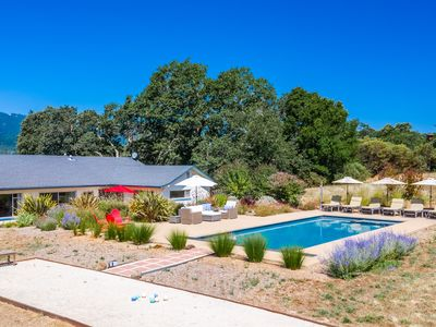 Photo for Gorgeous Sonoma Valley Estate With New Pool, Spa, Bocce And Basketball Court