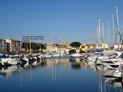 Photo for Very nice and pleasant studio of 34 m2 for 4 people between port and beach