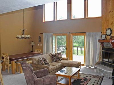Photo for Vacation Home with All Glass Front Windows & Gorgeous View of Ski Hill