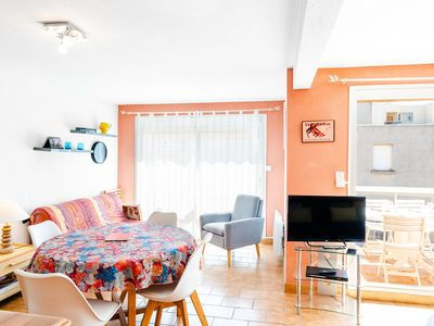 Photo for G11 : NARBONNE-PLAGE Nice 2-rooms flat