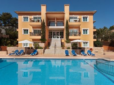 Photo for Sant Vicent de sa Cala Apartment, Sleeps 6 with Pool and WiFi
