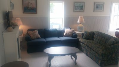 Photo for Quaint South Haven cottage walking distance to the lake and town