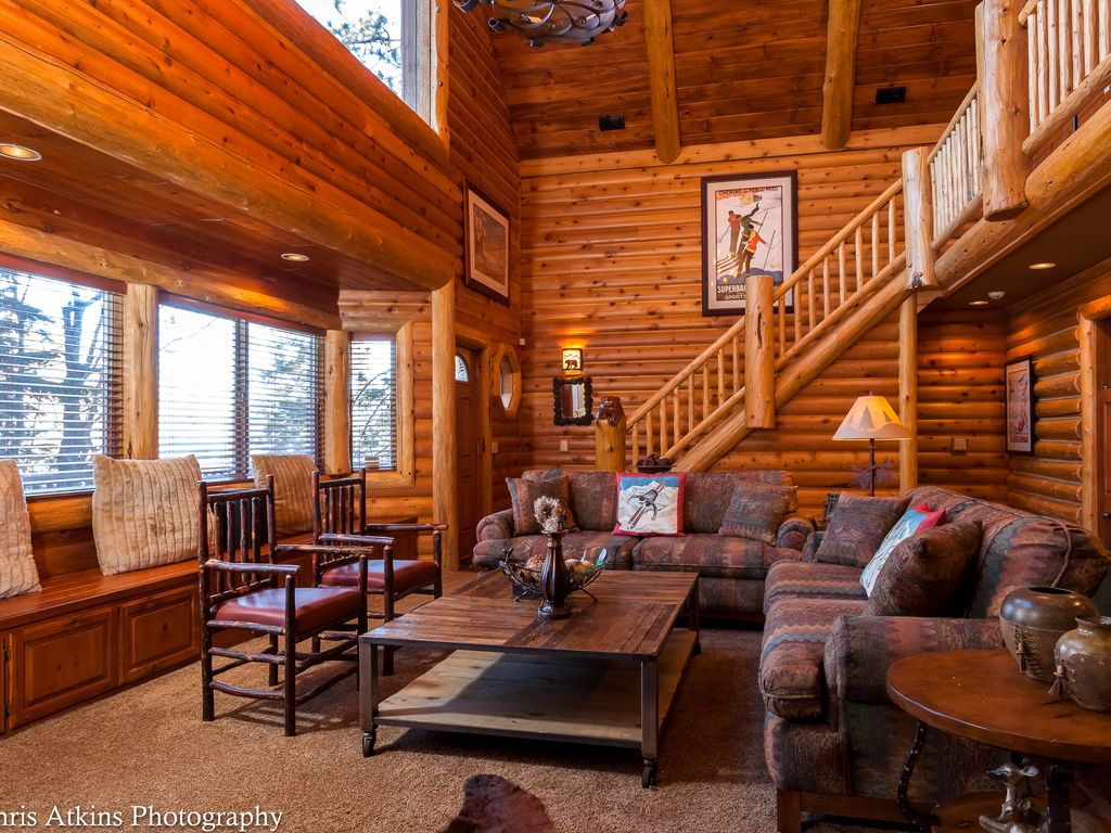 Chez bear beautiful cabin next to national forest big for Big bear village cabins