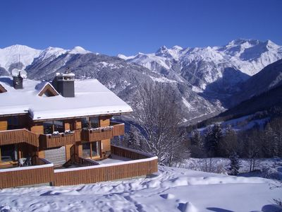 Photo for Lovely apartment Courchevel Village (Courchevel 1550)