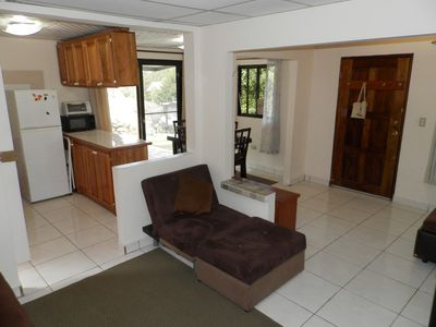 Photo for Boquete Panama walk to town, large one bedrom, private quite gardens and views