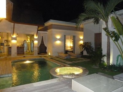 Photo for Bali – Seminyak – Oberoi district – Villa- swimming pool-6 people - near restaurants, shops