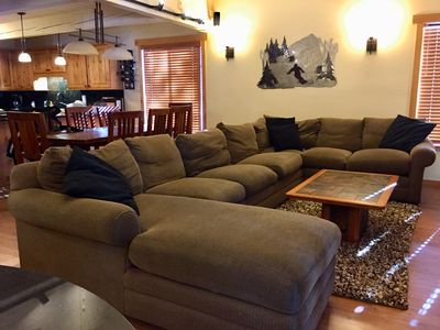 Photo for Labor Day weekend fun! Near Village, garage parking, pool, jacuzzi, game room