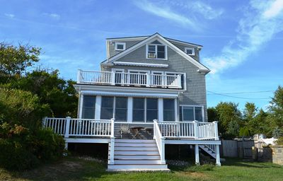 Photo for The Cable House: High-end oceanfront family home, 1/10 mi to Cape Hedge Beach