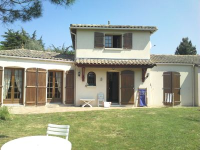 Photo for 4ch 103m2 villa with 6 bicycles