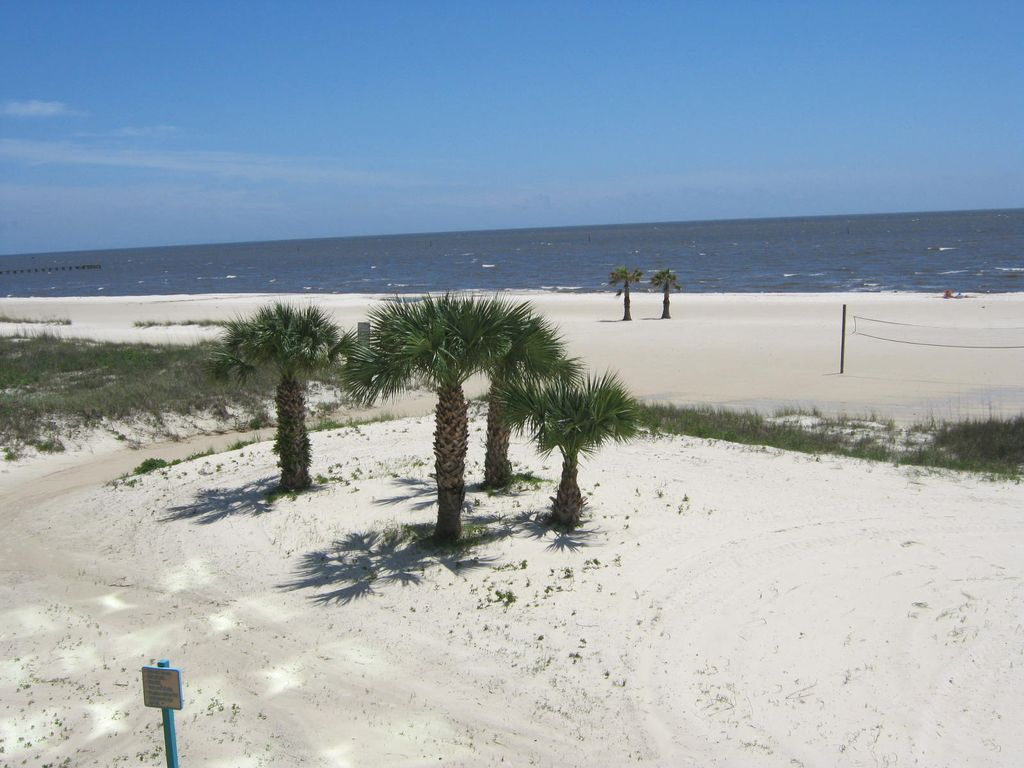 Biloxi Beach And The Gulf Of Mexico Are Your Back Yard At