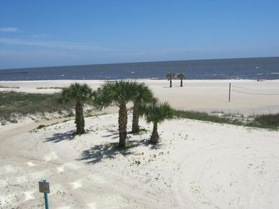Photo for Biloxi Beach And The Gulf Of Mexico Are Your Back Yard At Sea Breeze Condos