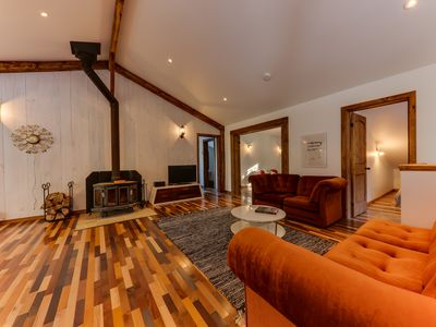 Photo for 4BR Chalet Vacation Rental in Amherst, QC