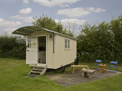 Photo for Shepherds Hut for two located on the east yorkshire coast