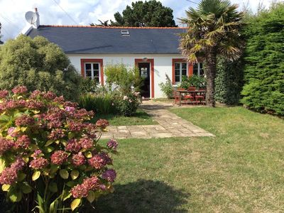 Photo for Belle-Ile, Locmaria. Charming and comfortable house for 6 people .wifi
