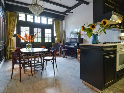 Gorgeous canal house in The Hague city