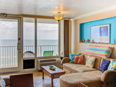 Photo for Cheery Direct OceanFront 7th Floor Unit with 2 Private/Separate Balconies-Washer/Dryer-FREE HBO/WIFI