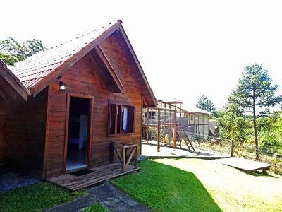 Photo for Chalet Infinito Gramado 05 (premium quadruple room)