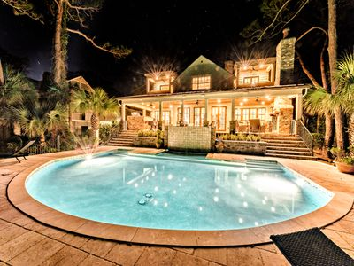 Oceanfront masterpiece in Sea Pines!