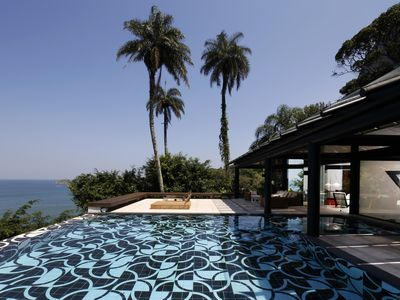 Photo for Rio003-Luxury contemporary house with pool in Rio
